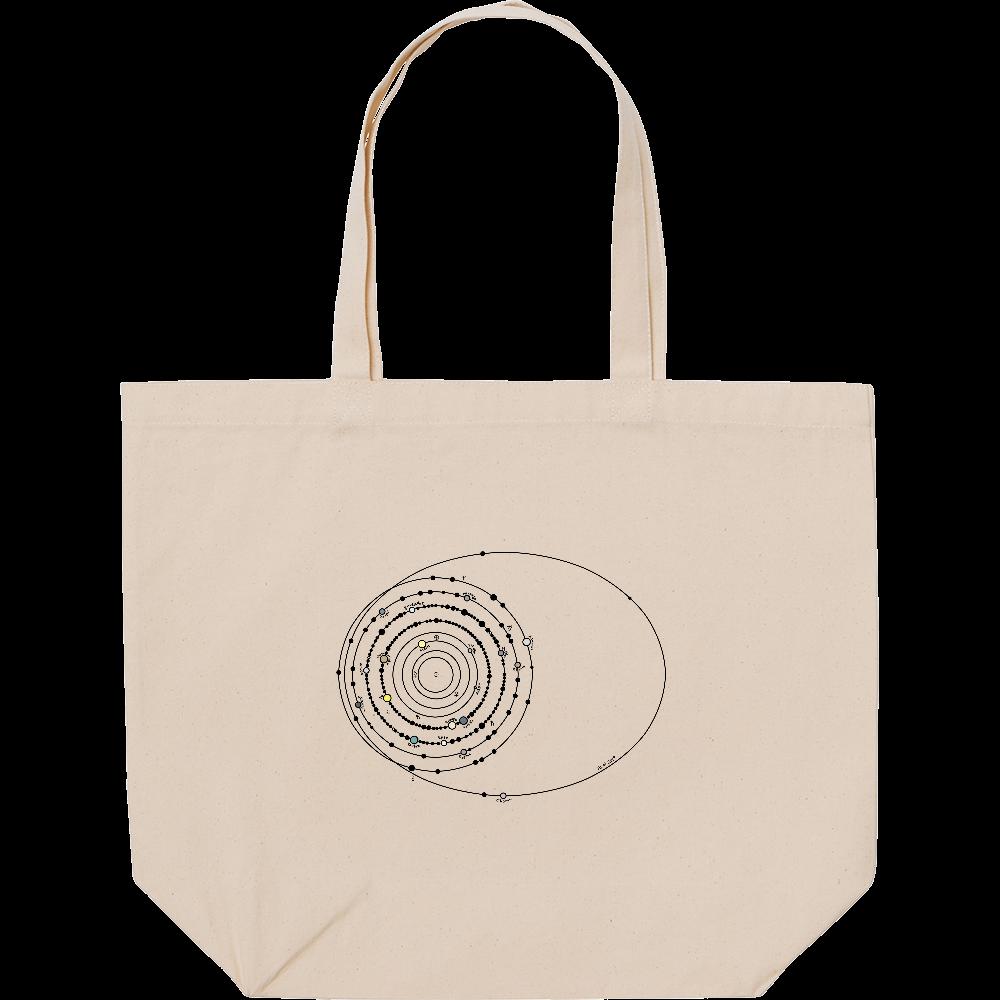 太陽系の衛星 スタンダードキャンバストートバッグ(L) スタンダードキャンバストートバッグ(L)
