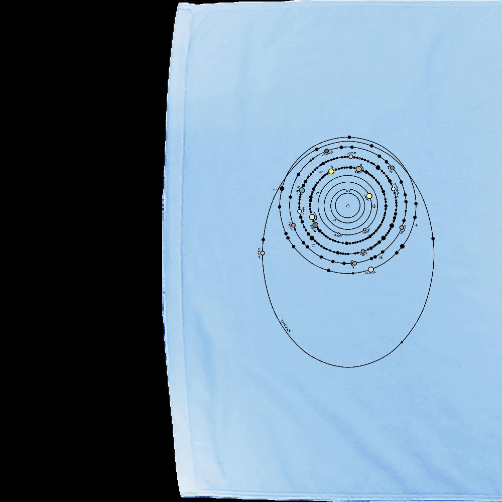 太陽系の衛星  シャーリングバスタオル シャーリングバスタオル