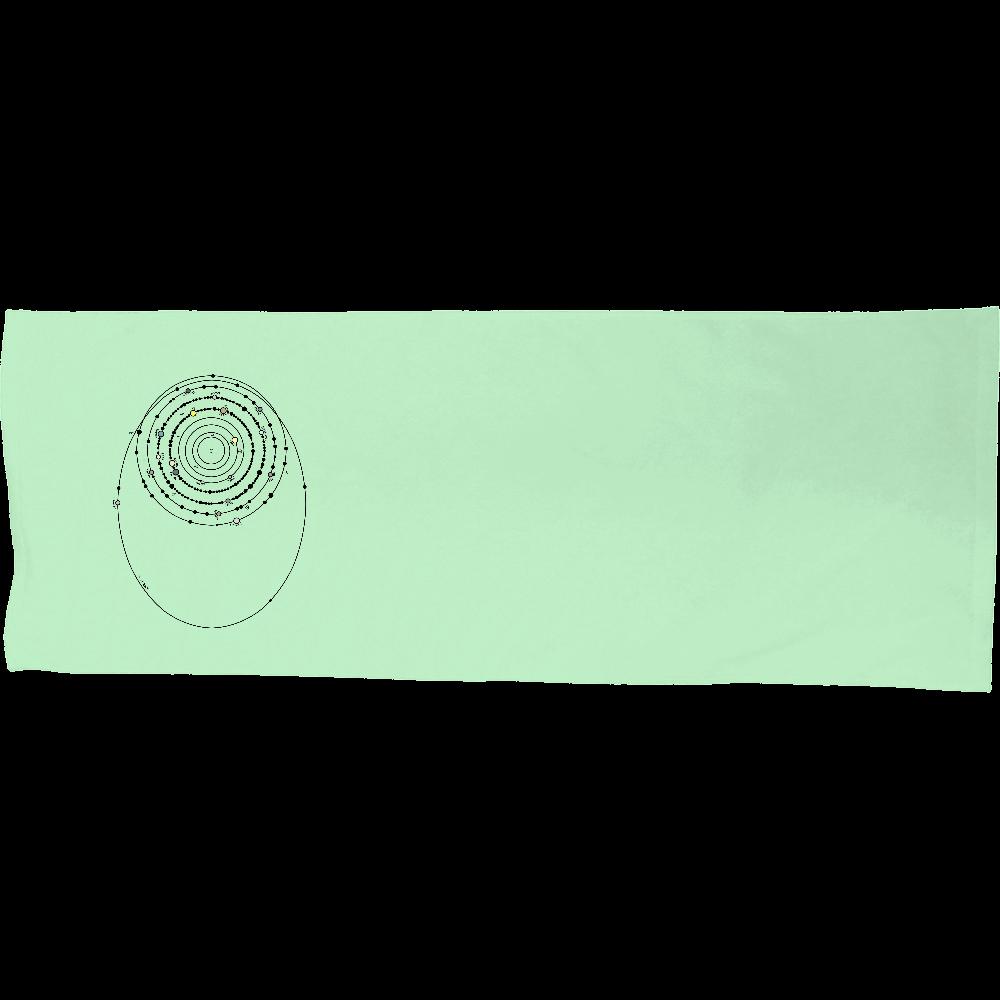 太陽系の衛星  シャーリングスポーツタオル シャーリングスポーツタオル