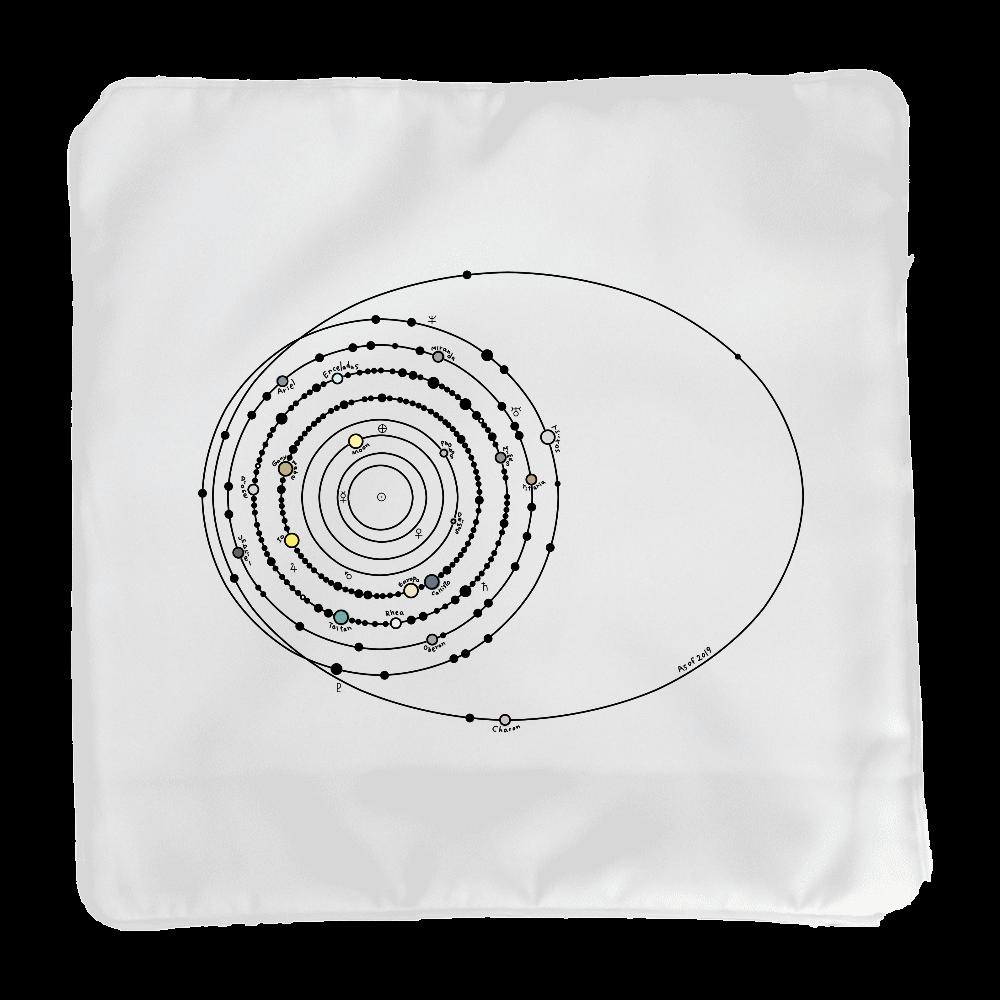 太陽系の衛星  クッションカバー(小)カバーのみ クッションカバー(小)カバーのみ