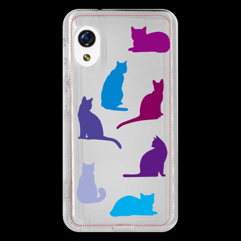 猫たちのRakuten Mini ソフトケース Rakuten Mini ソフトケース