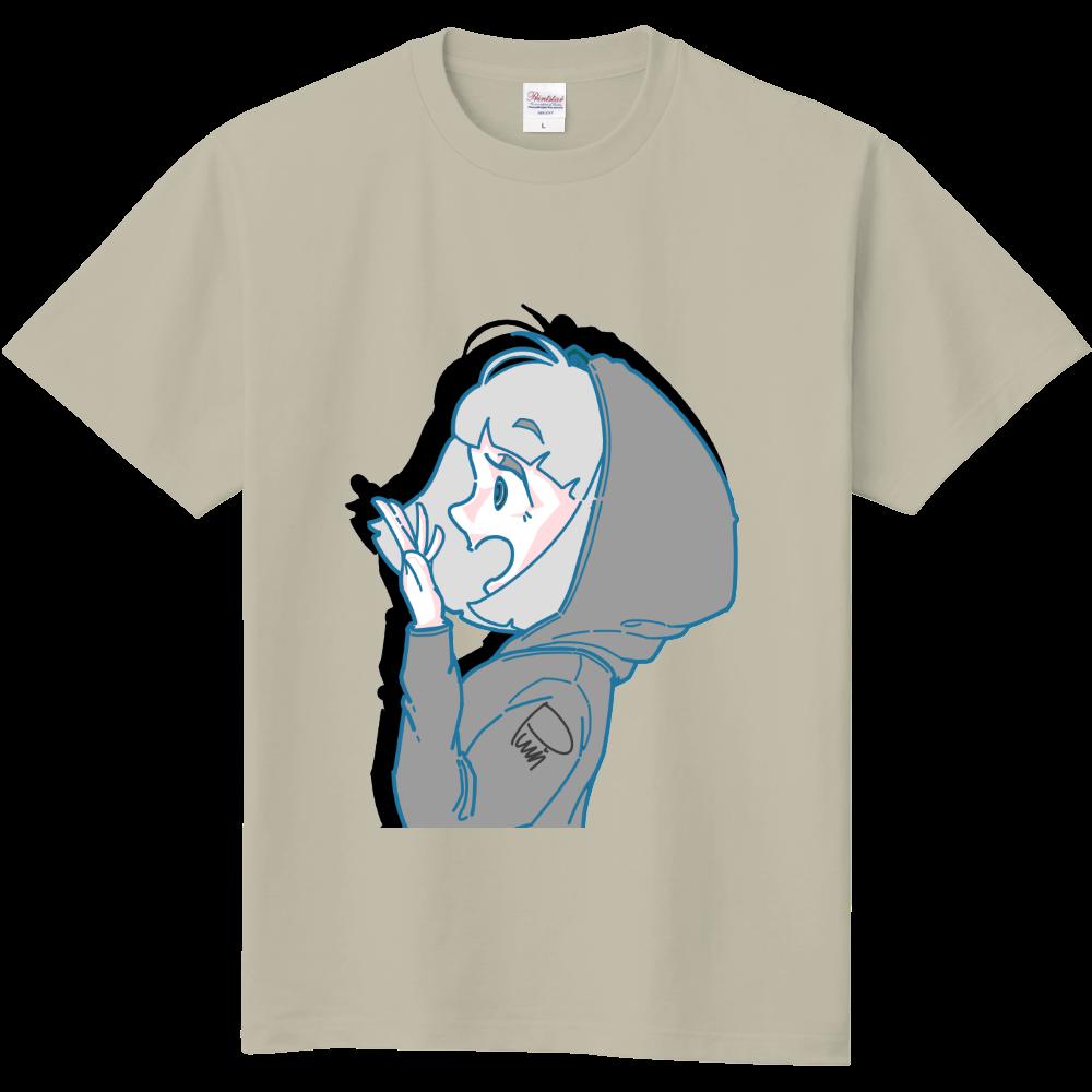 びっくりしたわパーカー子 定番Tシャツ