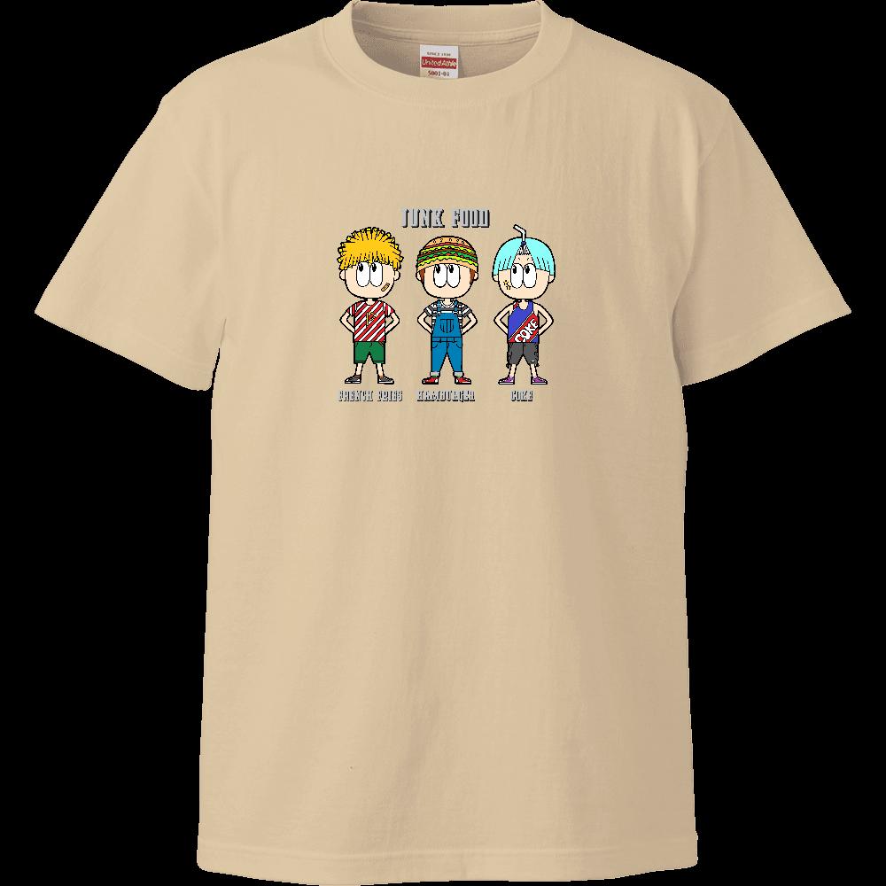 ジャンクフード/ファッション ハイクオリティーTシャツ
