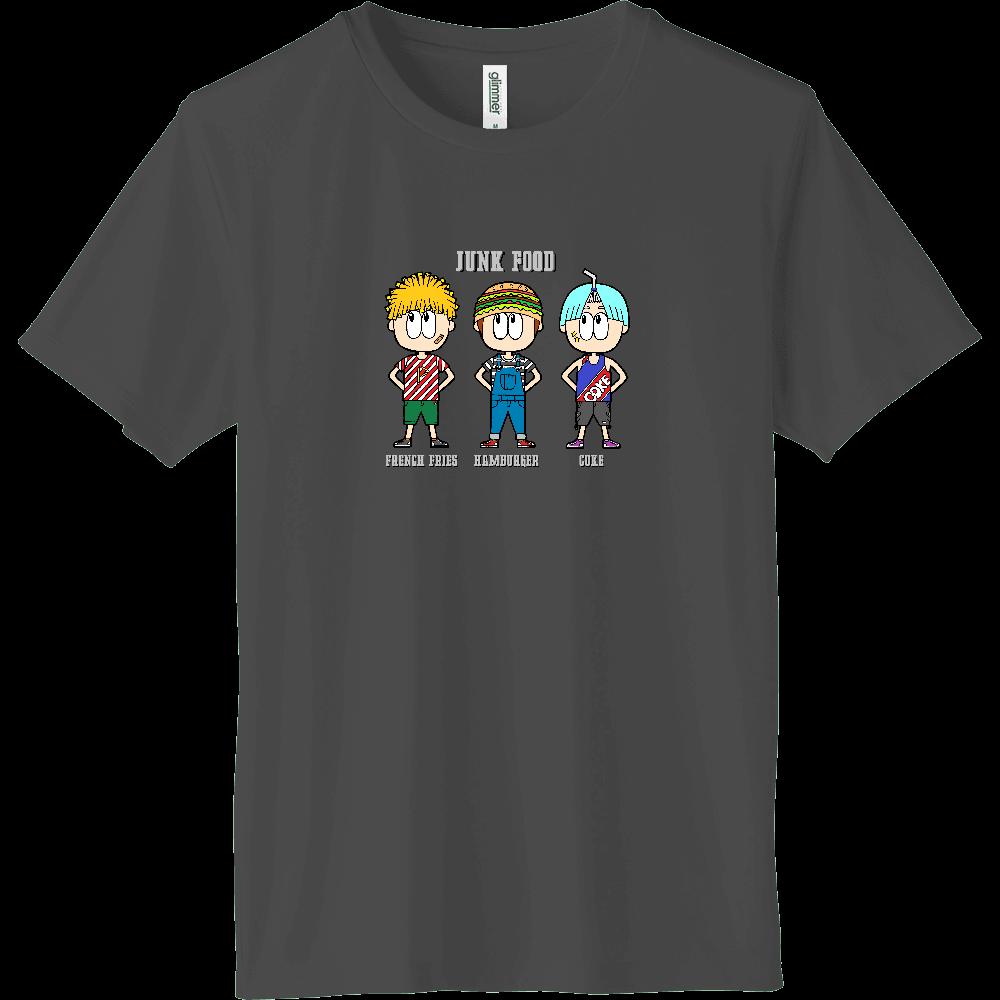 ジャンクフード/ファッション インターロックドライTシャツ