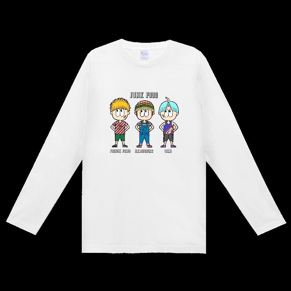 ジャンクフード/ファッション ヘビーウェイト長袖Tシャツ