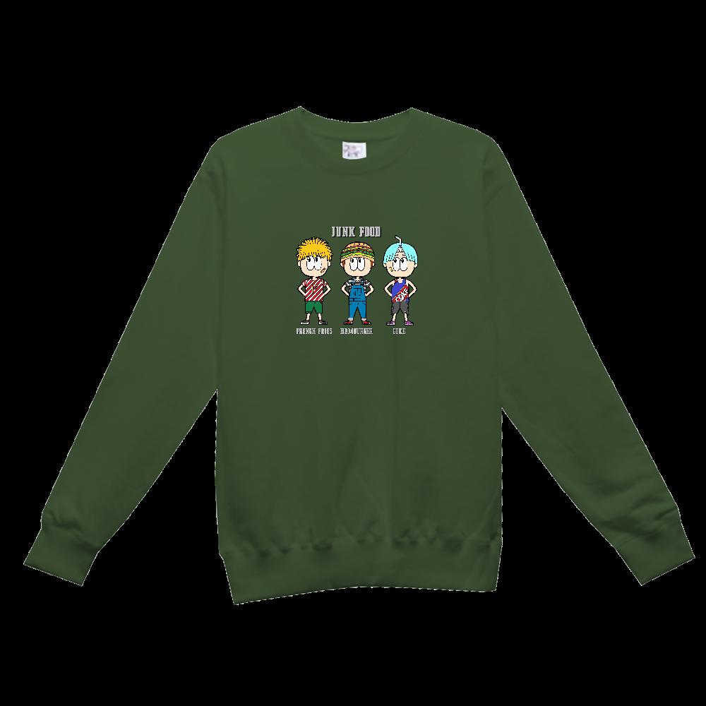 ジャンクフード/ファッション レギュラーウェイトスウェットシャツ