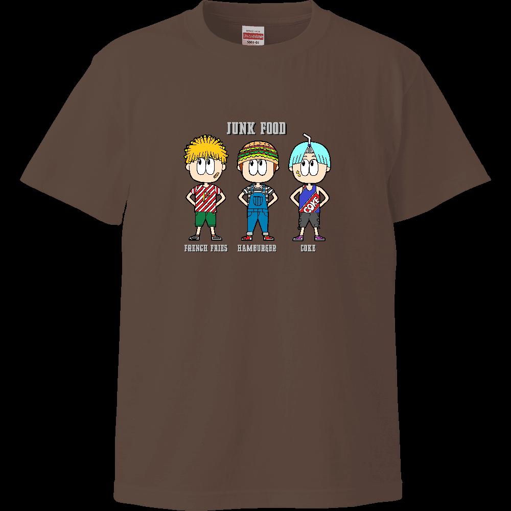 ジャンクフード/ファッション ハイクオリティーキッズTシャツ