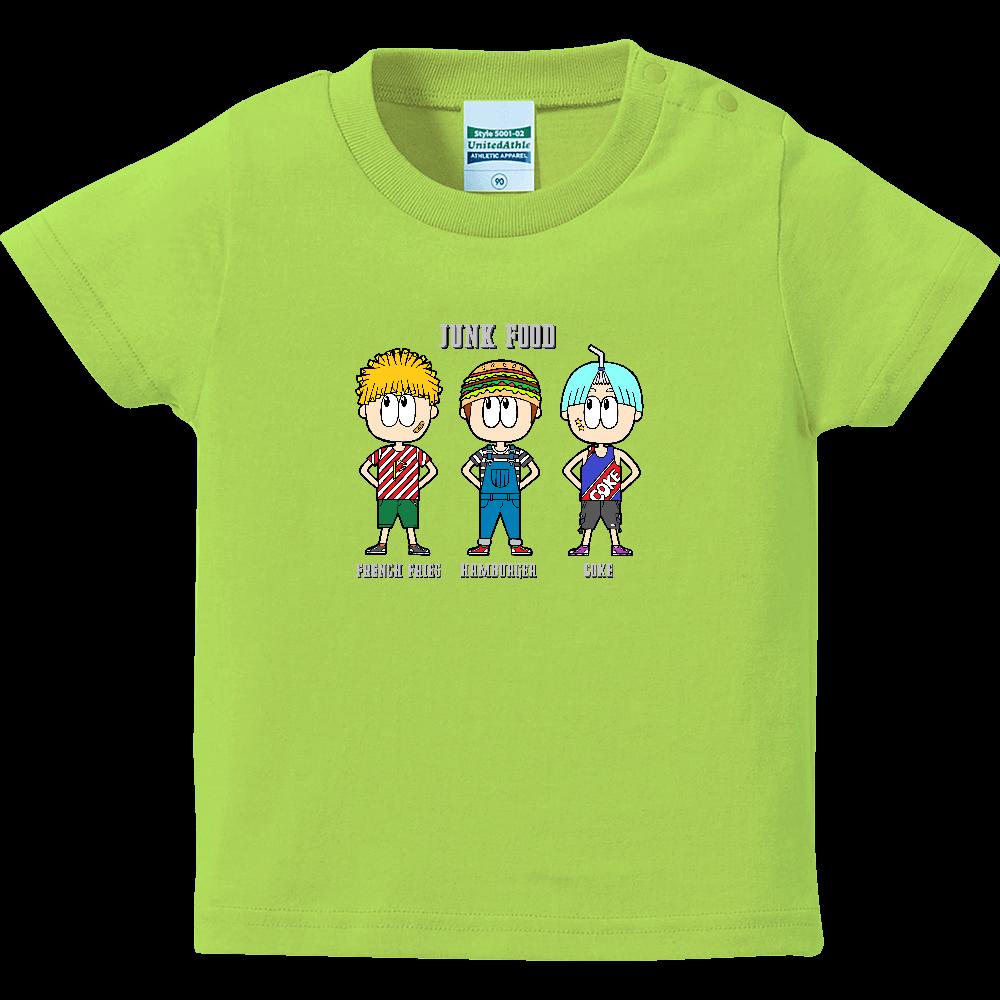 ジャンクフード/ファッション ハイクオリティーベビーTシャツ