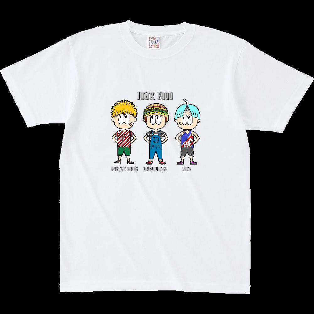 ジャンクフード/ファッション オープンエンド マックスウェイト Tシャツ(キッズ)