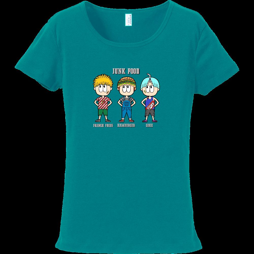 ジャンクフード/ファッション フライスTシャツ