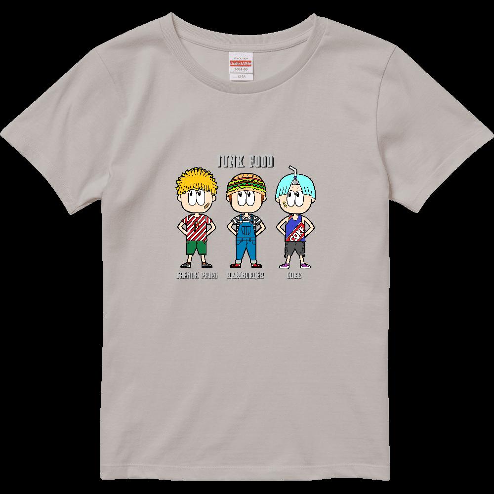ジャンクフード/ファッション ハイクオリティーTシャツ(ガールズ)