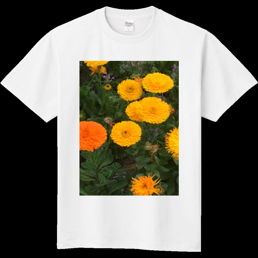 元気が出るビタミンフラワーの定番Tシャツ ホワイト  定番Tシャツ