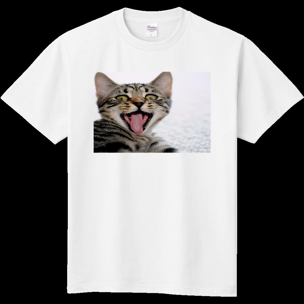 おもしろTシャツ 猫 かわいい 生意気な顔 メンズ レディース 定番Tシャツ