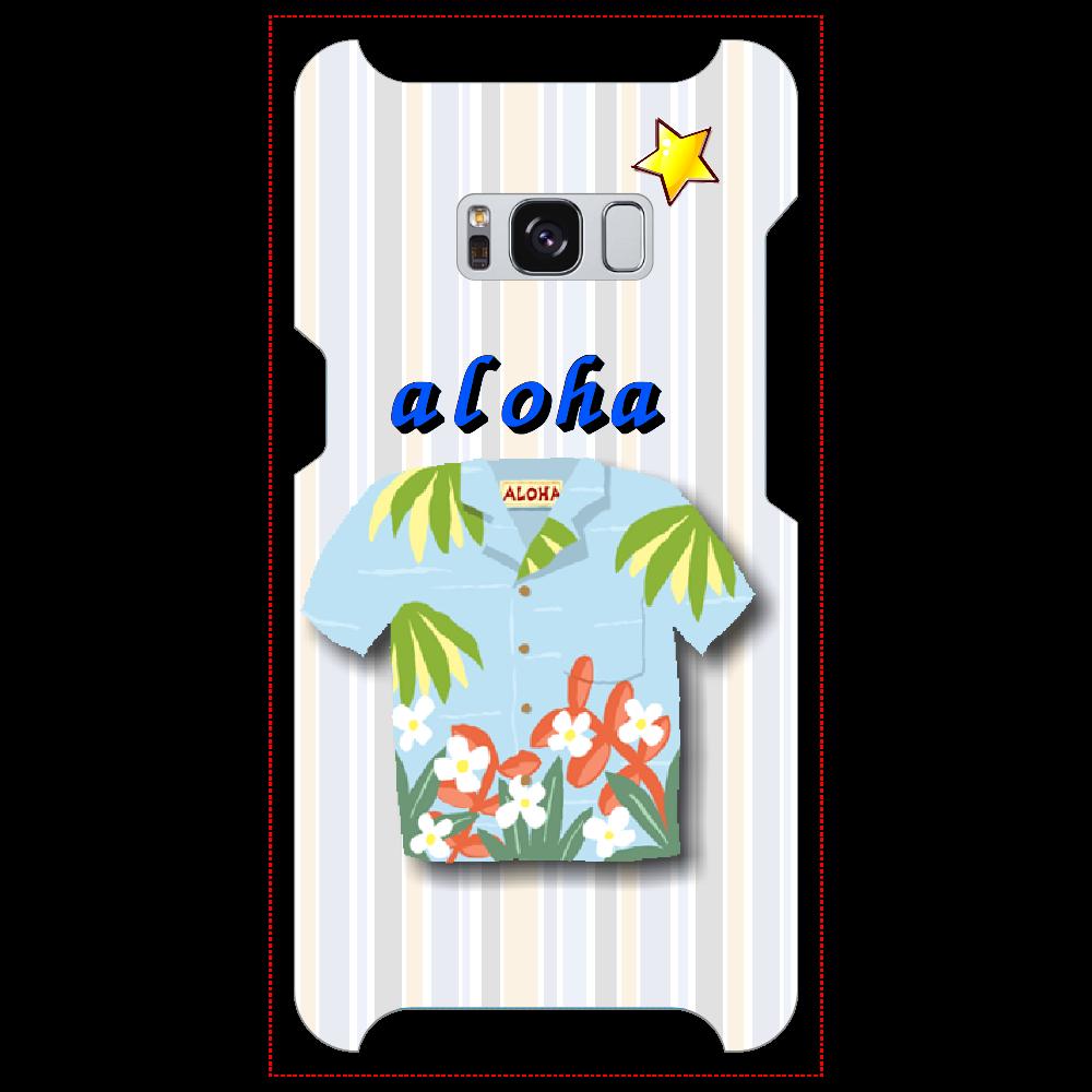 アロハシャツ Galaxy S8 Galaxy S8 (SC-02J)