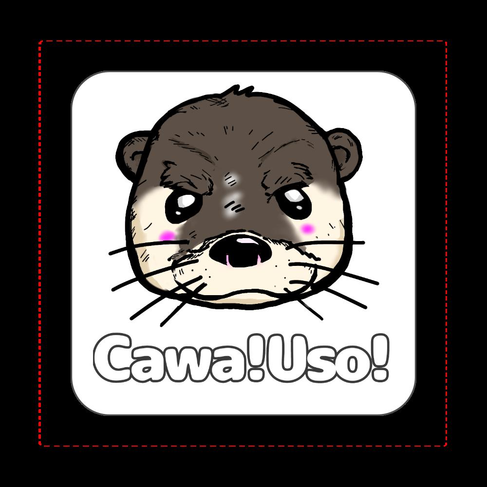 Cawa! Uso! ハンカチ 全面プリントハンカチタオル