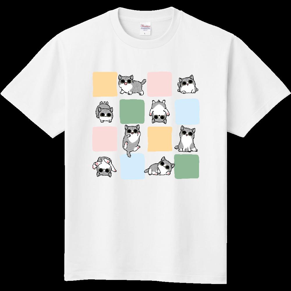ごろごろ猫 キッズTシャツ