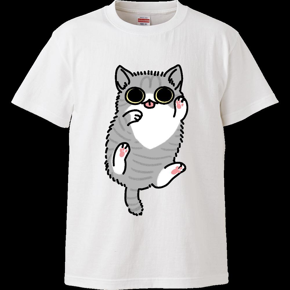 ごろごろ猫(大) ハイクオリティーキッズTシャツ