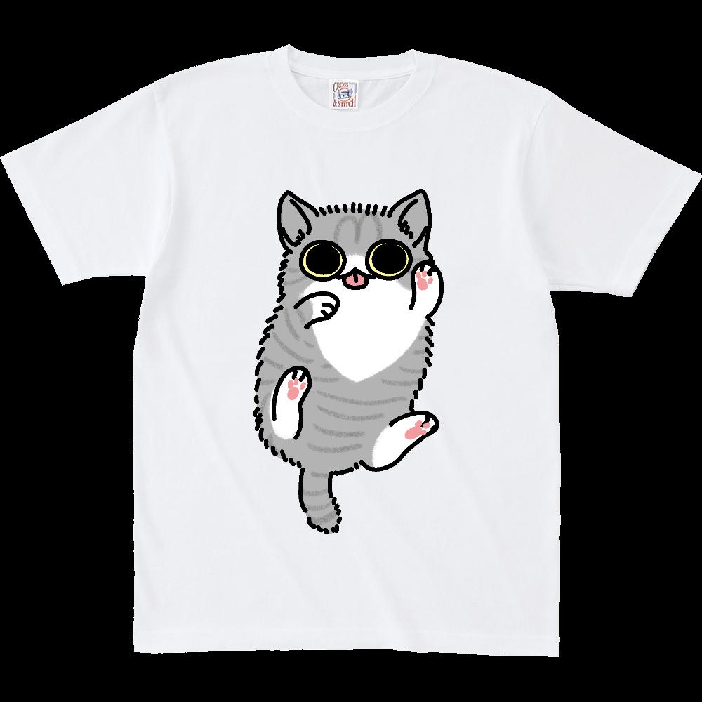ごろごろ猫(大) オープンエンド マックスウェイト Tシャツ(キッズ)