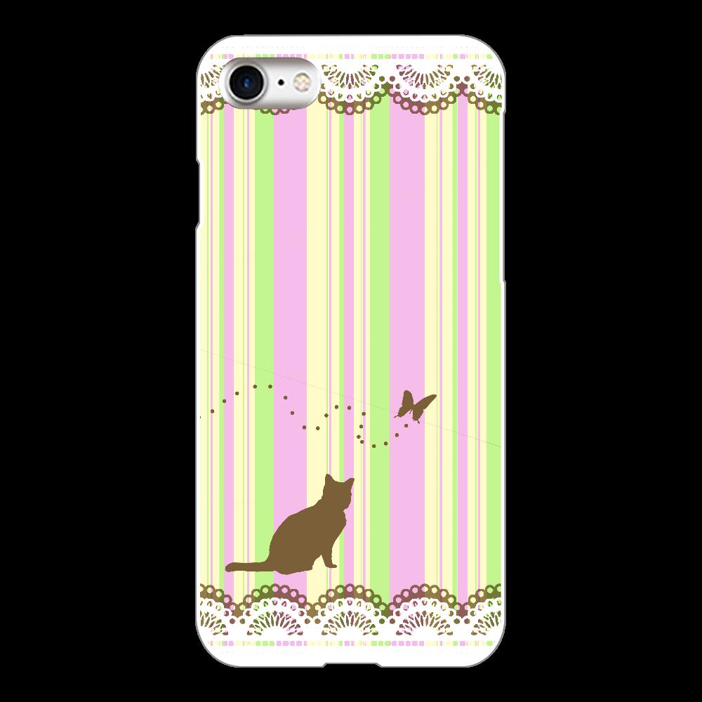 iphone8用ケース(白) iPhone8(白)