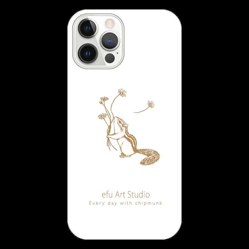 シマリスiPhoneケース(透明) iPhone12 Pro(透明)