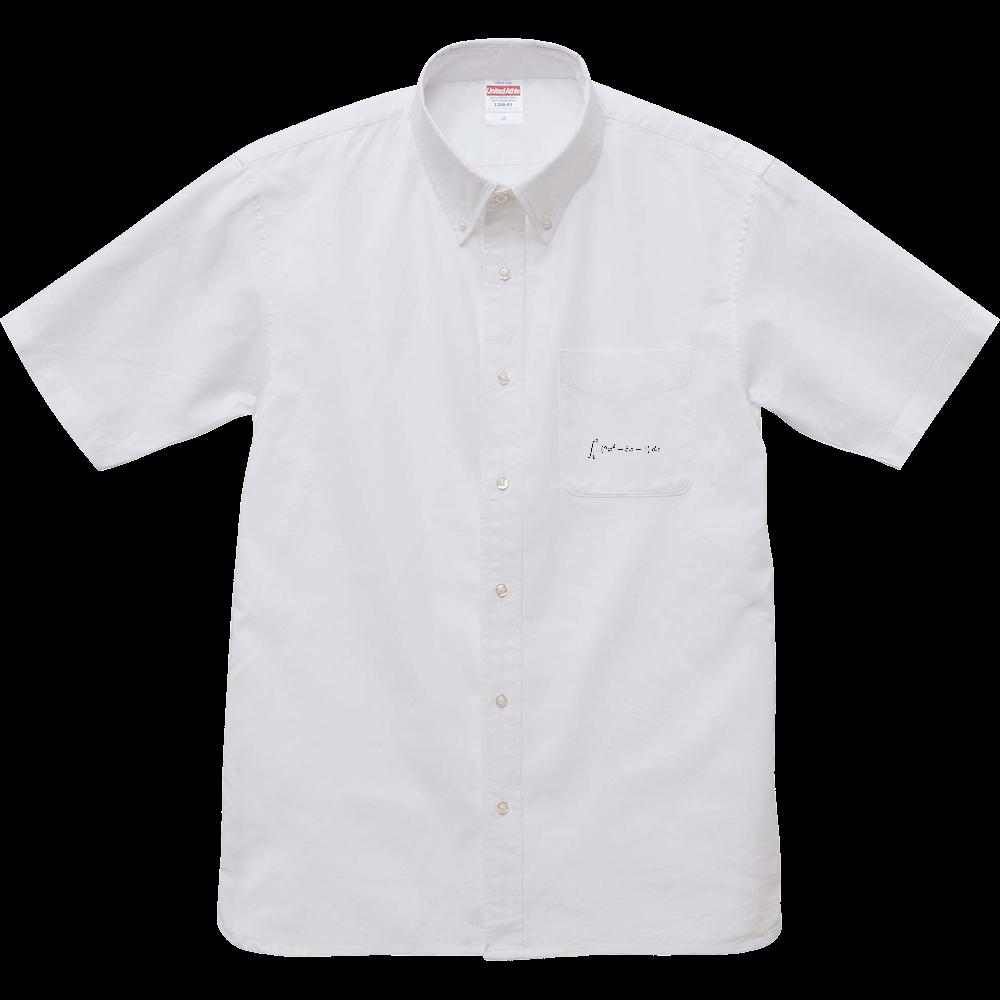 Integral  オックスフォードボタンダウンショートスリーブシャツ