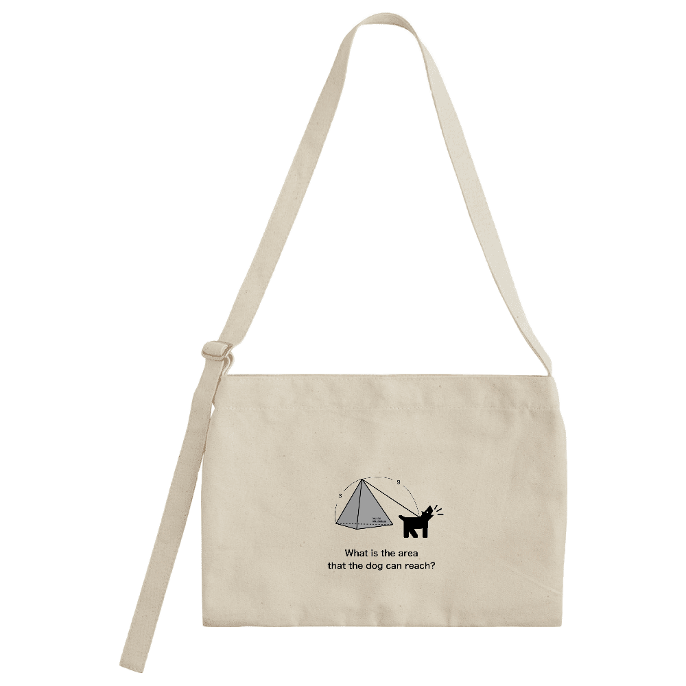 Dog Area キャンバスミュゼットバッグ