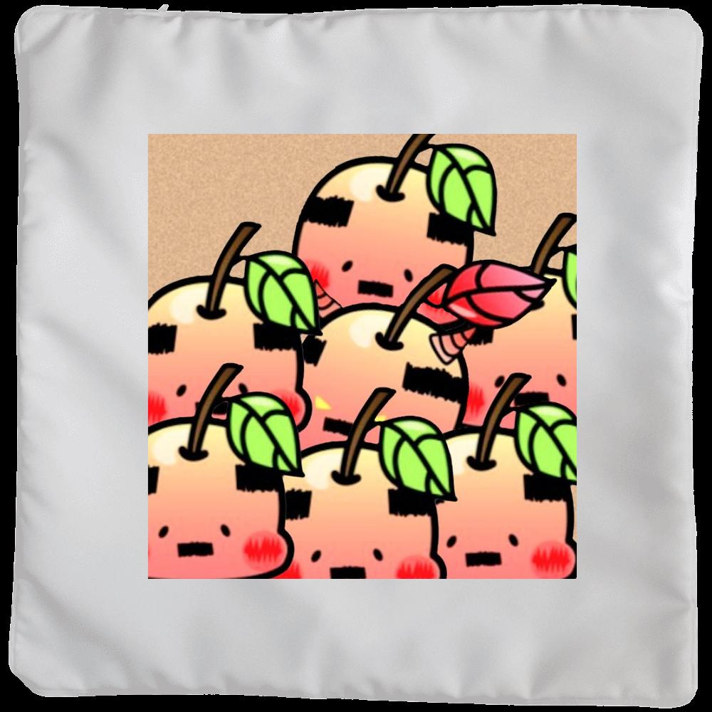 おやじりんご たくさんいる クッション(大)