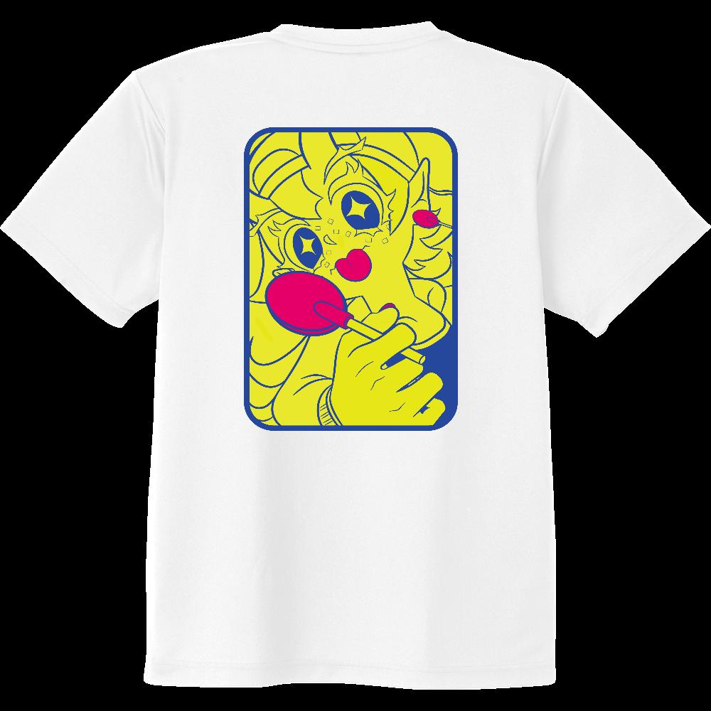 ぺろぺろ(Tシャツ) ドライVネックTシャツ