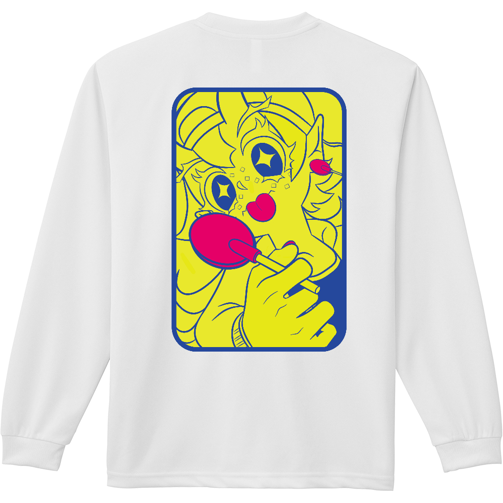 ペロペロ(長袖Tシャツ) ドライ長袖Tシャツ