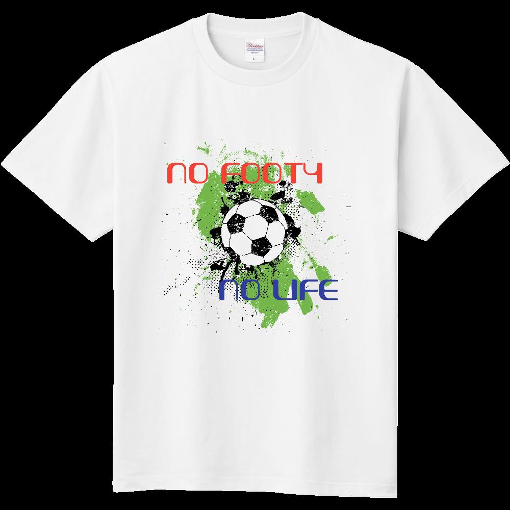 おもしろTシャツ NO FOOTY NO LIFE  ノーフッティ ノーライフ  定番Tシャツ