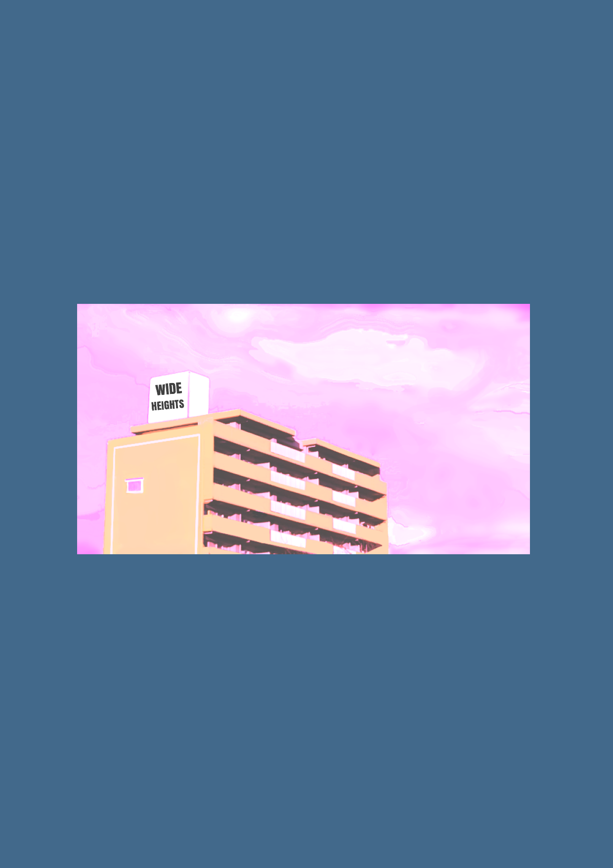 ワイドハイツマンション レザーマウスパッド レザーマウスパッド(スクエア)