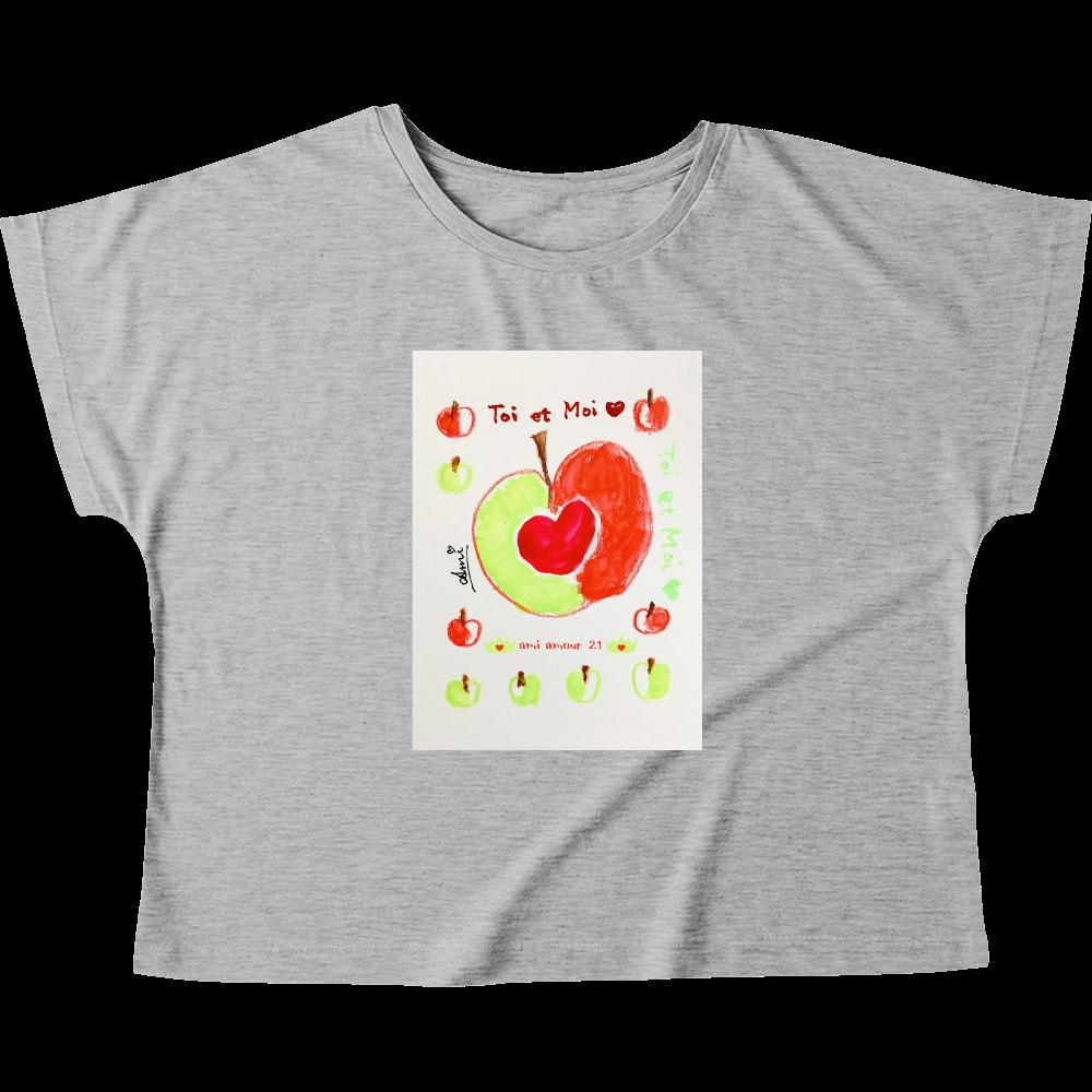 「Toi et  moi(あなた と わたし)」 ウィメンズ ドルマン Tシャツ