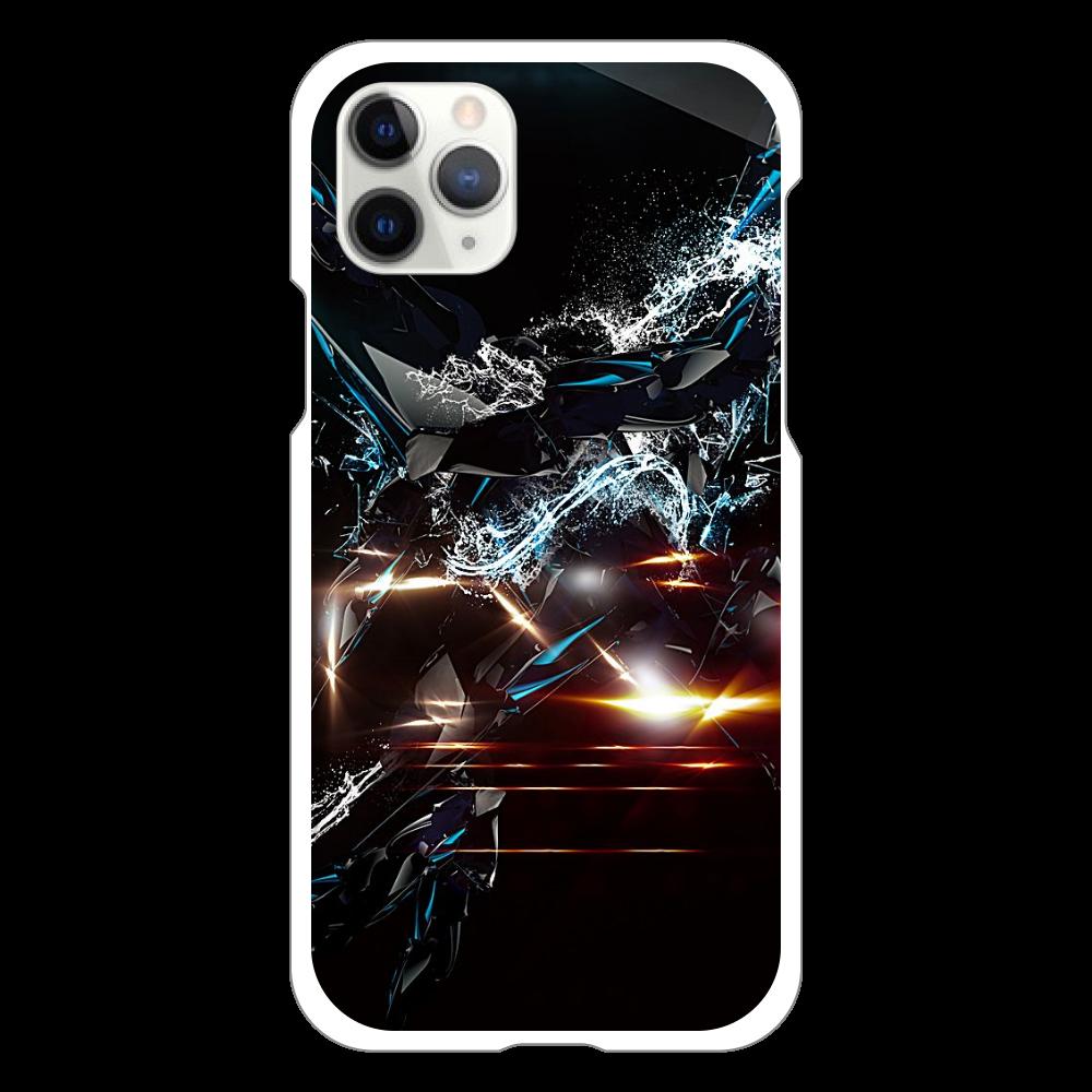 黒デザイン iPhone11 Pro(白)