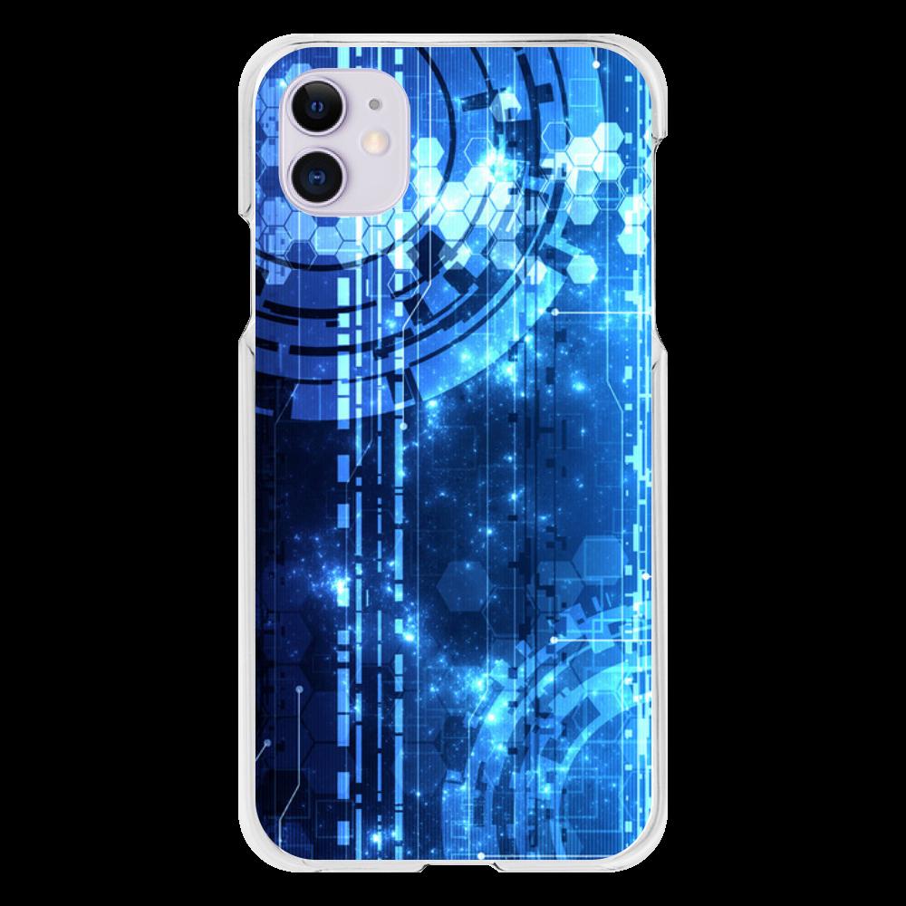 サイバーデザイン iPhone11(透明)