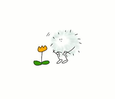 花とほこり  ペンケース