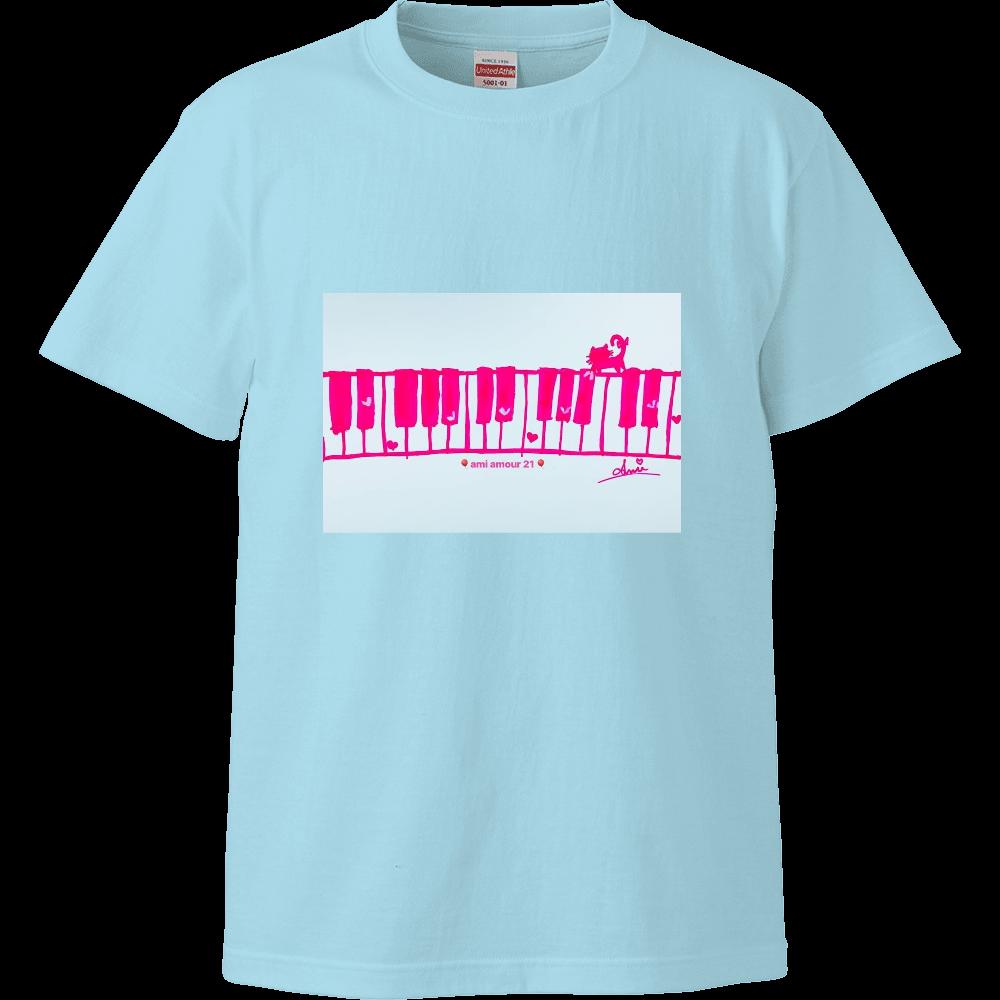 ピンクネコ キッズTシャツ ハイクオリティーキッズTシャツ