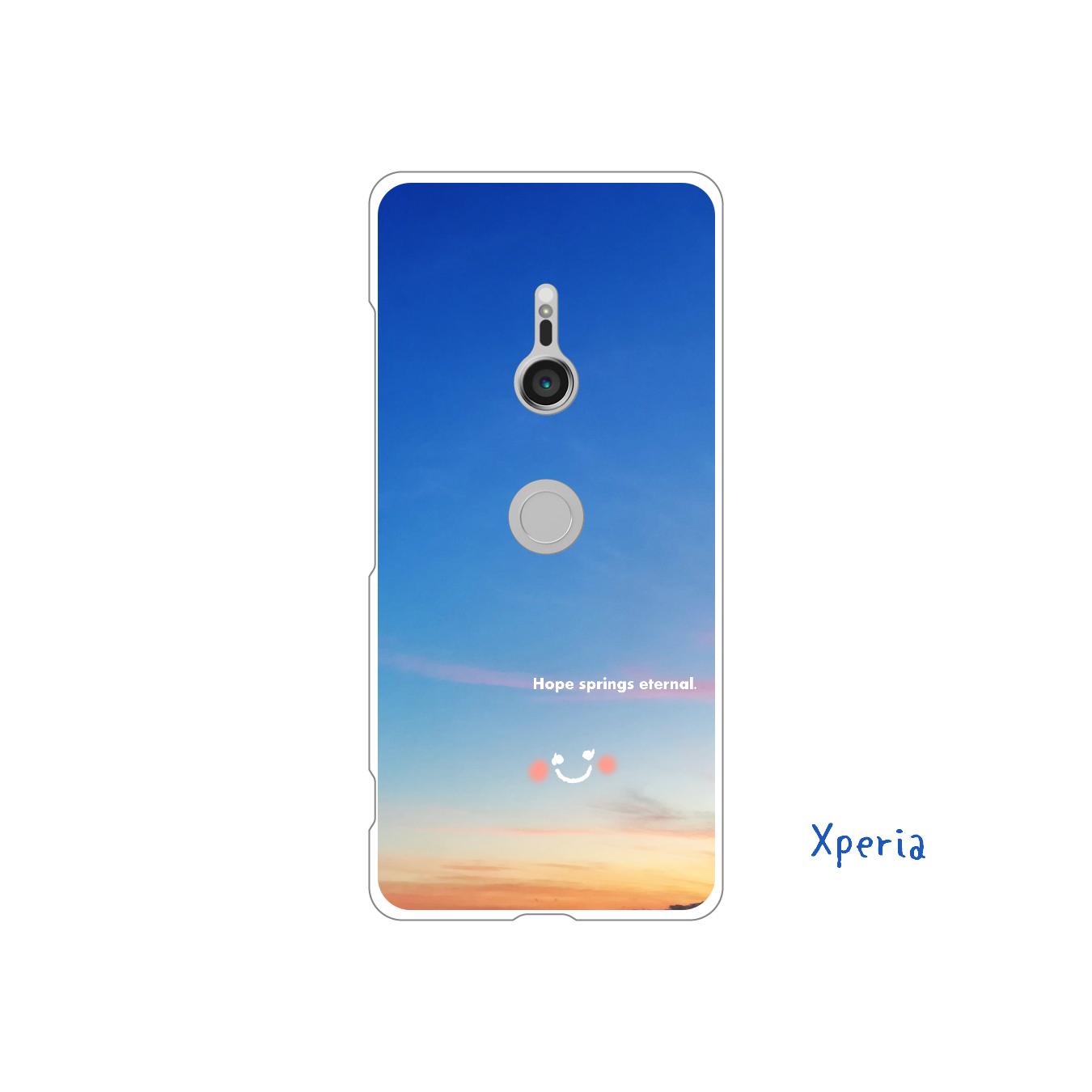 Hope springs eternal.     (Xperia) Xperia XZ3(SO-01L/SOV39/801SO)