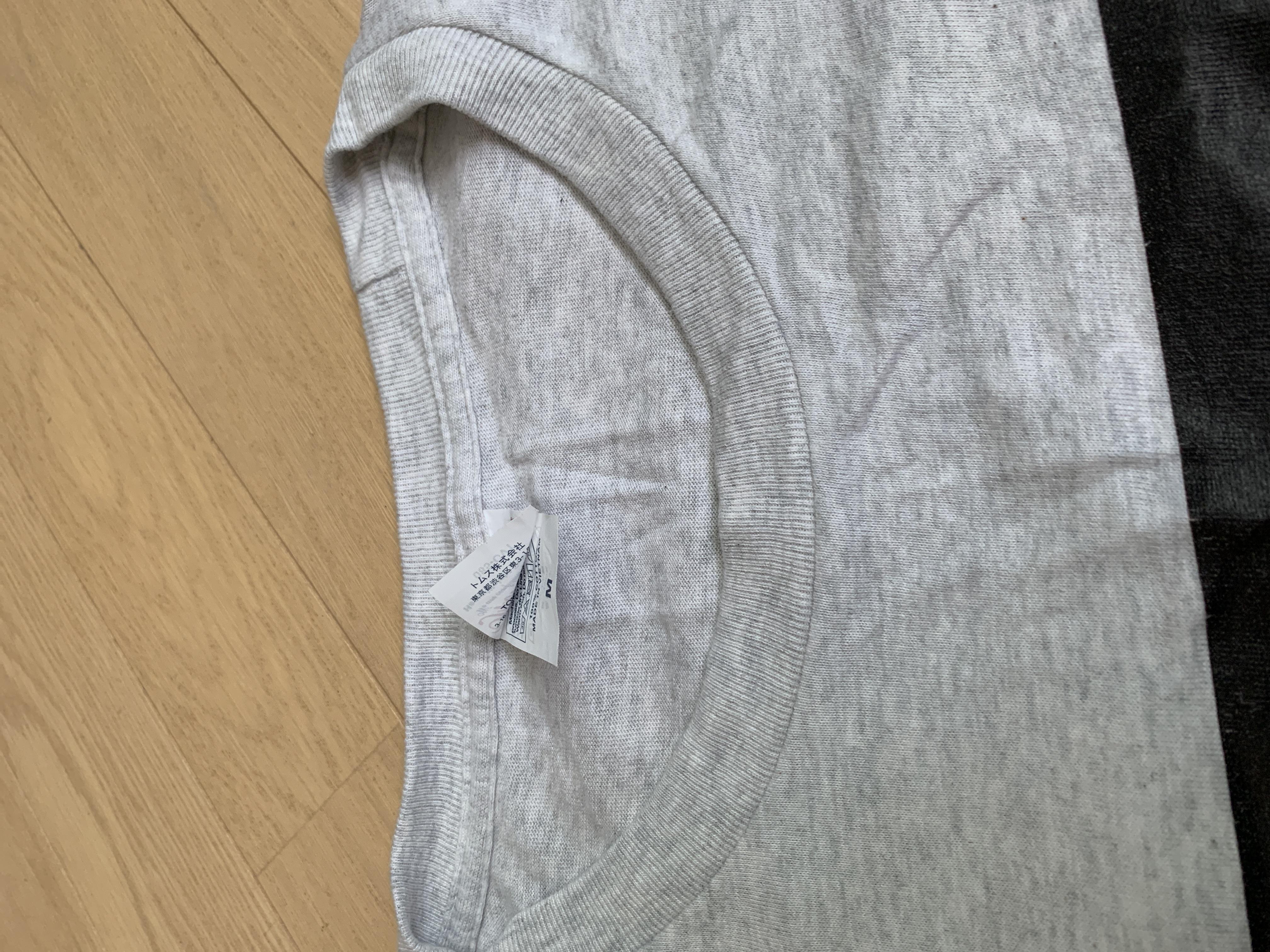 Tシャツの厚みが、、、
