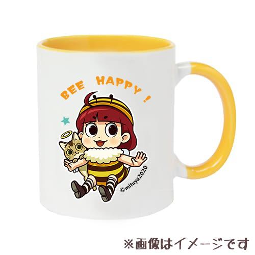 BEE HAPPY マグカップ 2トーンマグカップ