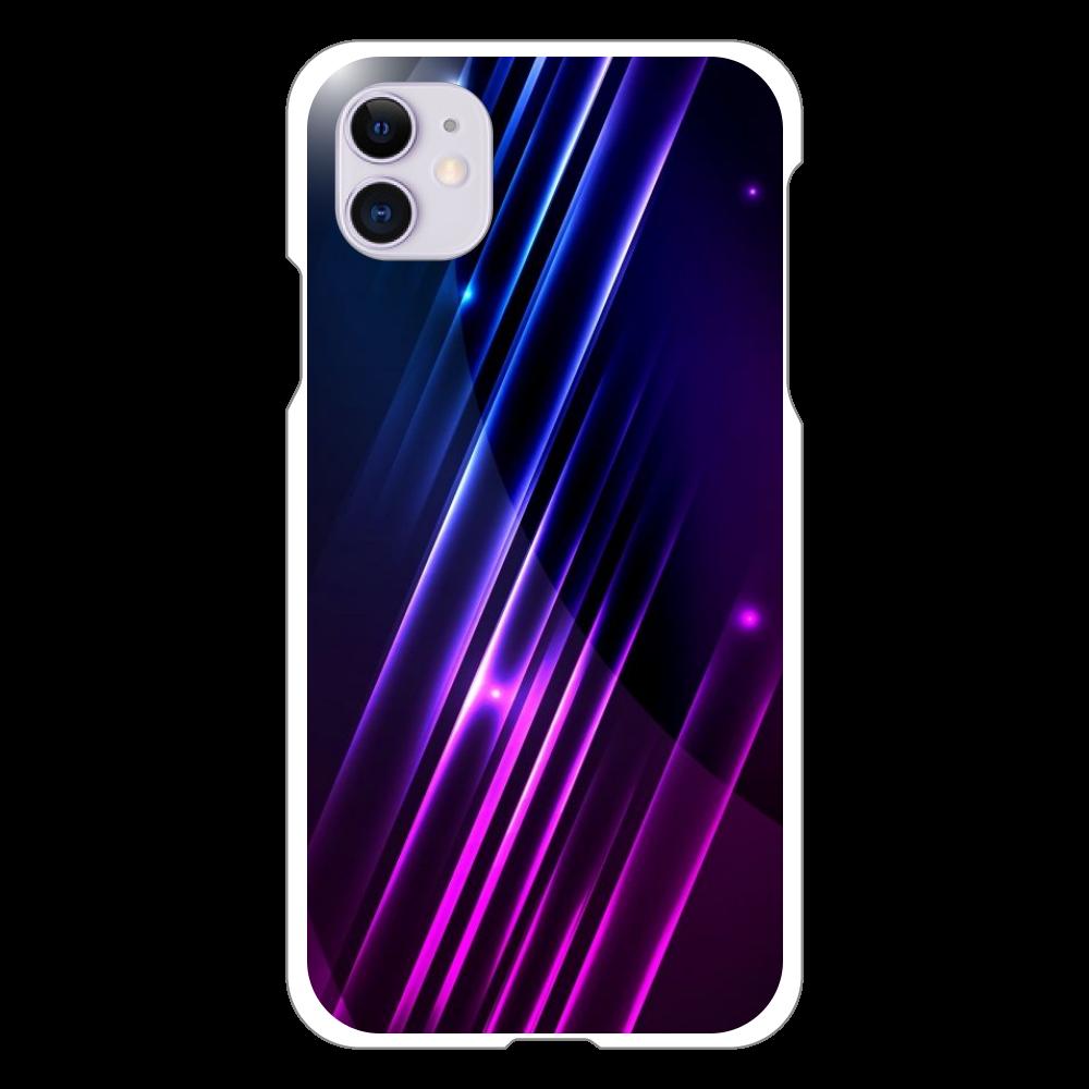 黒デザイン iPhone 11(白)