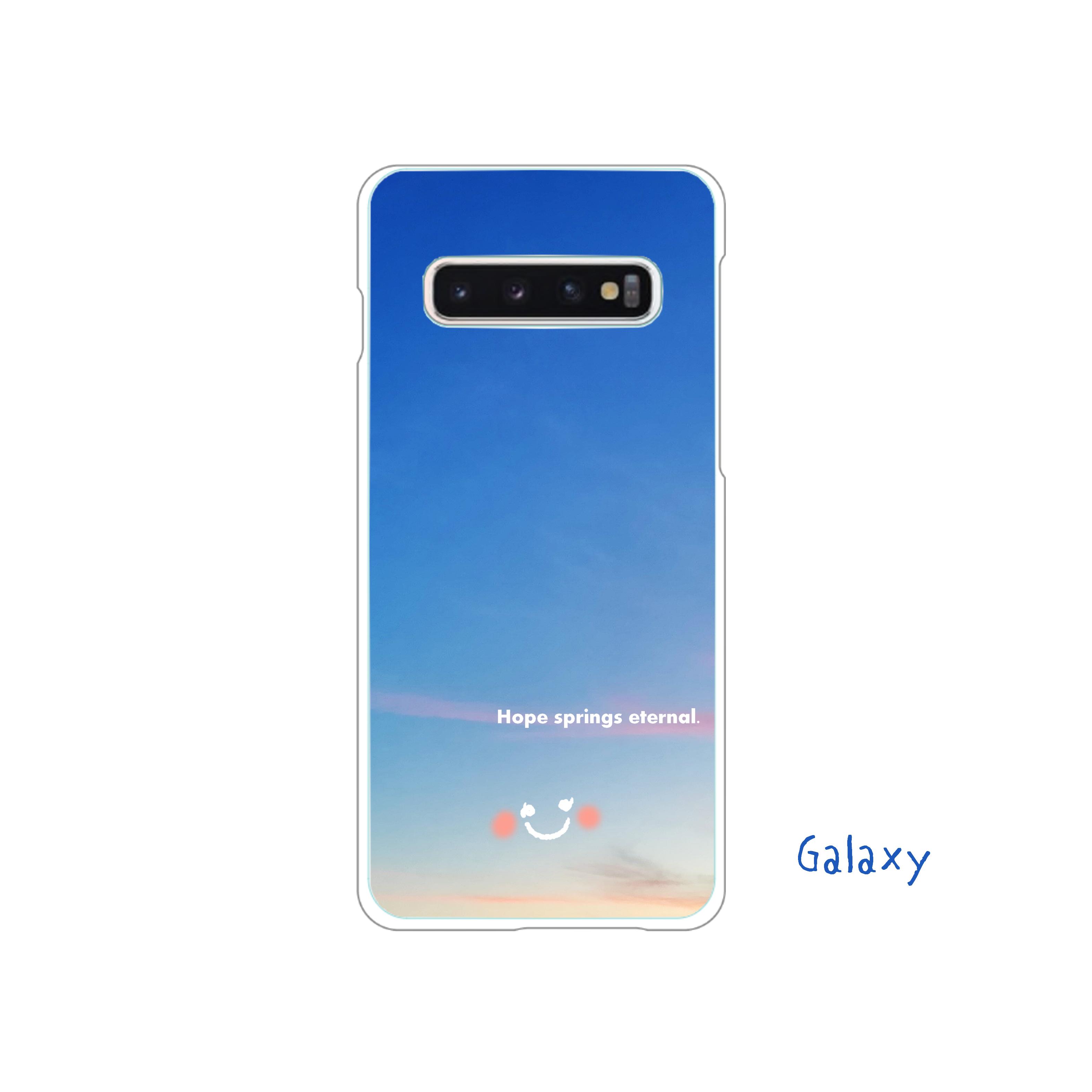 Hope springs eternal.     (Galaxy) Galaxy S10+ (SC-04L/SCV42)