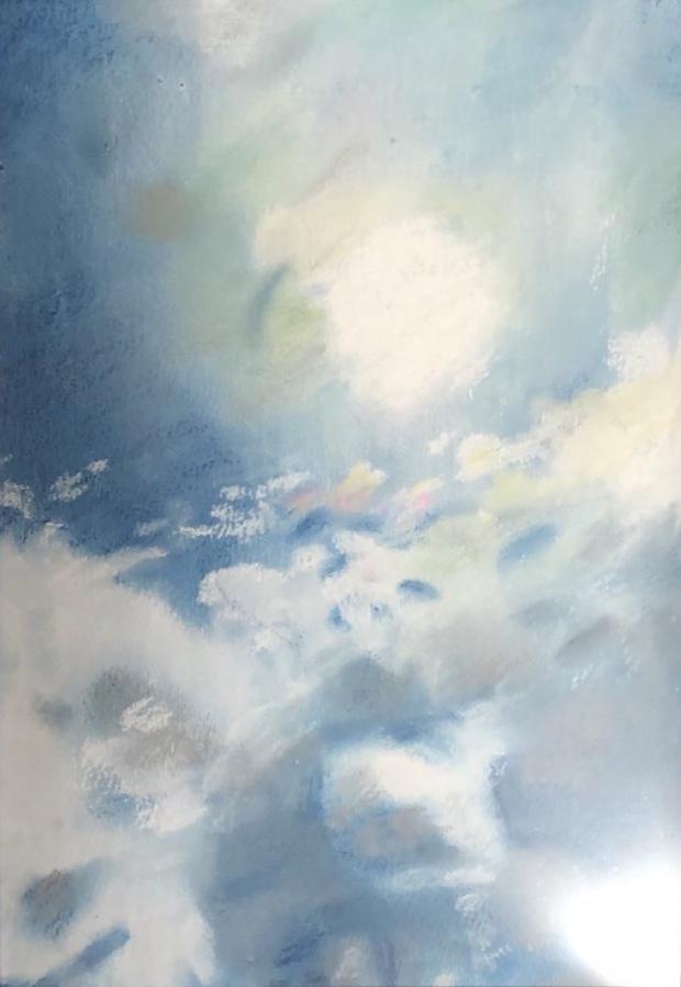 彩雲のショルダーバッグ クラフトリングショルダーバッグ