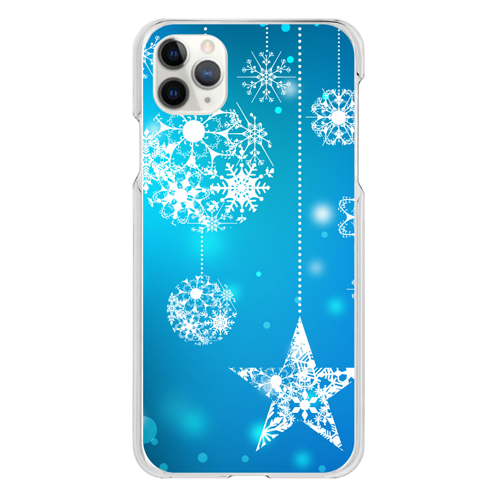 雪デザイン iPhone 11 ProMax(透明)